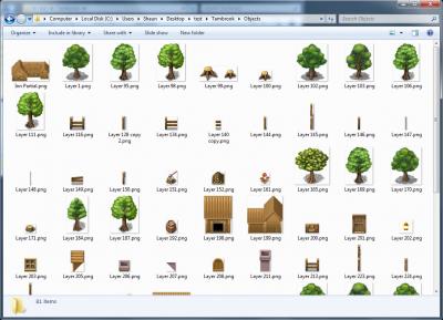 Objects folder